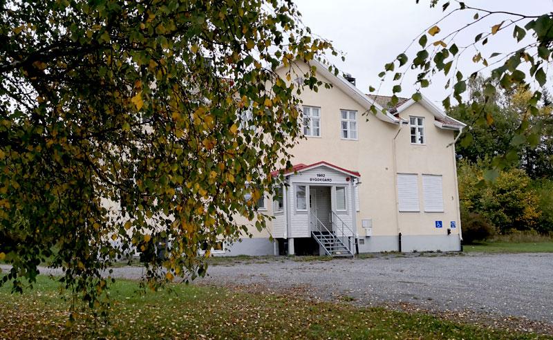 Bergby Skolas bygdegård, september 2020